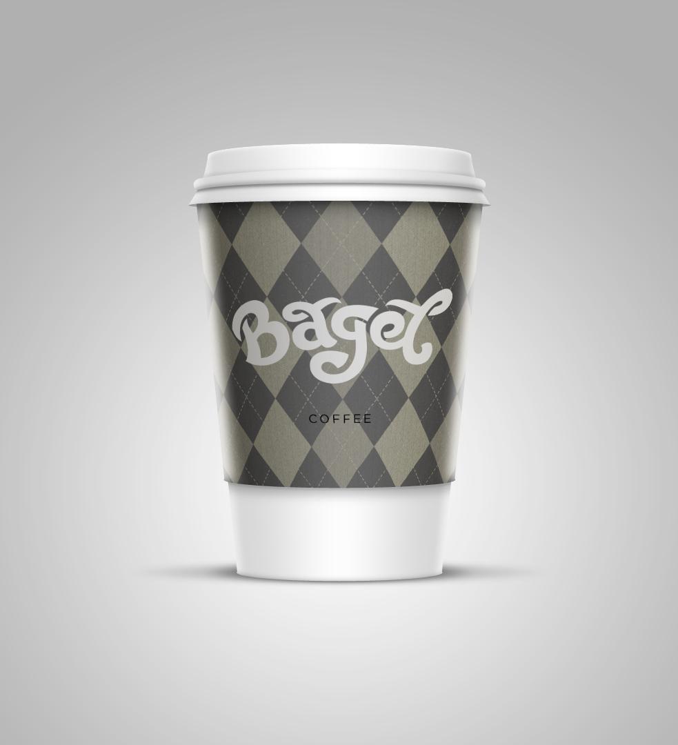 Этикетка для кофе на вынос