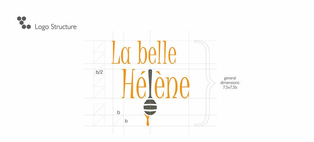 Дизайн логотипа для меда