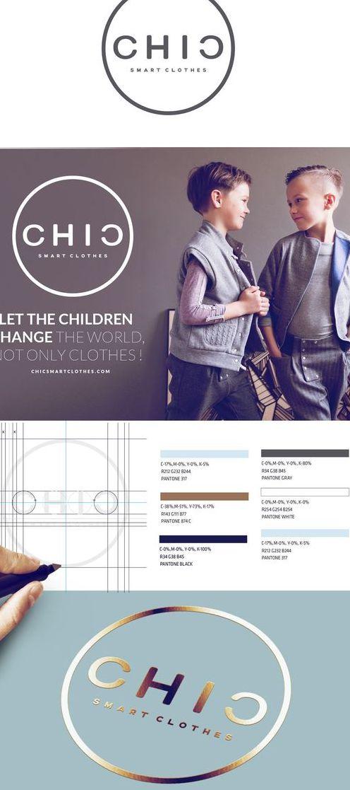 Разработка фирменного стиля для бренда одежды