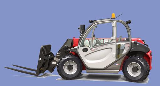 Le constructeur français a présenté sous le signe de l'innovation 12 nouveaux produits et services parmi lesquels deux avant-premières Il s'agit du chariot MT 420H New Buggy pour espaces confinés et du télescopique MRT 2145 pour applications de grande hauteur . Le MT420 H New Buggy vient agrandir les télescopiques compacts Manitou sur lesquels est déjà présent le MT 625 ( 6m/2,5T). Cet engin ultra compact est particulièrement destiné au marché de la rénovation, aux travaux urbains où les chantiers sont très exigus et en maintenance industrielle. Mais encore pourla manutention chez des marchands de matériaux pour le BTP et également pour la location. Ses dimensions : 1,49m de large, 3 ,67m de long au tablier et 1,90 m de hauteur. En outre, sa compacité n'affecte pas ses performances puisque sa hauteur de levage maxi est de 4,28m et sa capacité de charge est de 2t. Le New Buggy est doté de 4 roues motrices et directrices et d'une transmission hydrostatique. Sa cabine est confortable et son tableau de bord est intuitif. Il est disponible avec le tablier standard de Manitou ou le tablier skid steer avec une gamme étendue d'accessoires. Les mouvements du bras s'effectuent via la commande du JSM qui permet à l'opérateur de conserver une main en permanence sur le volant. Le MT420 H New Buggy sera mis sur le marché début 2017. Quant au modèle MRT 2145 , il vient compléter la gamme des MRT Easy légère avec une capacité de levage  de 21m et une capacité de charge supérieures + 4,5t. Ce télescopique de 14t et compacte ( 6,59m au talon des fourches) est particulièrement adapté sur chantiers étroits. Sa compacité combinée au rayon de giration restreint procure une excellente maniabilité .Le MRT2145 est pourvu d'une transmission hydrostatique et de nouveaux stabilisateurs type araignée qui offre une grande stabilité et l'autorise à travailler dans un périmètre important. Relevons encore une nouvelle flèche avec flexibles hydrauliques placés à l'intérieur pour une meilleure protec