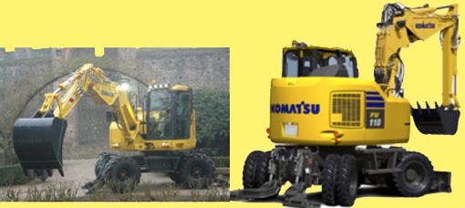 Komatsu International Europe propose sa nouvelle pelle compacte de 13 tonnes à rayon court arrière sur pneus PW118MR-11 conforme aux émissions EU Stage IV. Elle a été présentée « en première » à la Samoter et sera disponible d'ici peu. Parmi ses caractéristiques relevons entre autres : une   réduction de 7% de la consommation de carburant par rapport à la PW118MR-8, 6 modes de fonctionnement( + 1 par rapport au modèle Série 8) et un système de détection neutre du levier de commande pour plus de sécurité. Mais encore une colonne de direction réglable en hauteur et un contrepoids plus lourd pour une capacité de levage élevée et des opérations sûres En plus elle est équipée en standard du système KomVision de Komatsu qui à l'aide de caméras   placées sur les côtés de la pelle, dont une à l'arrière permet à l'opérateur d'avoir une vue aérienneà 360° autour de la machine.   Epinglons encore   la dernière télématique Komtrax qui intègre   plusieurs fonctionnalités inédites comme : communication 3G par mobile,un système d'identification individuelle,un indicateur du niveau d'AdBlue, une alarme de siphonnage du réservoir de carburant, un enregistrement des mises automatiques au ralenti et un rapport du statut de la machine.     Notons encore son écran de contrôle TFT-LCD haute résolution de 7'' disponible en 25 langues et son nouveau look qui arbore le gris Komatsu sur le châssis et sur les jantes.   Caractéristiques principales    : Poids en ordre de marche : 13,3-13,8 tonnes. Moteur : puissance nette au volant : 72,6kW/99ch. Capacité godet : 330 litres. Profondeur maxi de creusage :4180mm. Force de cavage au godet : 71,7kN.       Nouvelles pelles sur pneus Mecalac