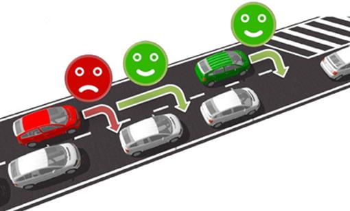 Le principe de la tirette oblige les automobilistes à s'intercaler tour à tour dans la bande de circulation restante àla hauteur d'un rétrécissement définitif ou provisoire. L'objectif poursuivi est de fluidifier le trafic   en utilisant un maximum de la capacité de la route. Une cinquantaine de nouveaux panneaux vont être installés par le SPW sur le réseau régional en les limitant à divers endroits stratégiques.   Ces localisations seront définies en fonction des lieux où le trafic est important (sur autoroute lors du passage de 3 à 2 bandes de circulation), où les remontées de files génèrent des embouteillages récurrents (entre deux ronds-points par exemple) ou encore avant le début d'un chantier. Ces endroits sont variables en fonction des circonstances, principalement au droit des chantiers.   Pour rappel, l'accès à une autoroute ou à un rond-point n'est pas concerné par le principe de la tirette.  © Bull BTP