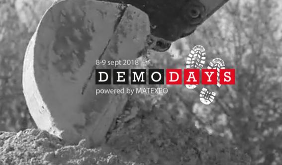 Pour la première fois de sa longue histoire Matexpo ,quittera Courtrai pour la Wallonie où il organisera les 8 et 9 septembre 2018 ses Demo Days dans une sablière située à Braine-L'Alleud  © Photo Matexpo       © Bull BTP
