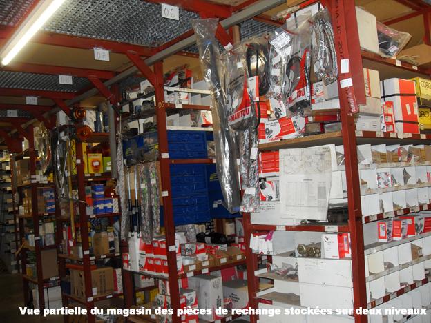 Parc de machines en location :425, y compris 70 machines Komatsu.,6000 m2 de bâtiments couverts (ateliers, cabine de peinture, magasin de pièces de rechange sur deux niveaux). C'est aussi 47 collaborateurs (ingénieurs, techniciens, commerciaux), 12 camionnettes atelier et cinq camions pour la livraison des engins et une vaste zone extérieure de stockage de machines. L'ensemble du site c'est: 2,35ha  .         photos © CDU Bull BTP