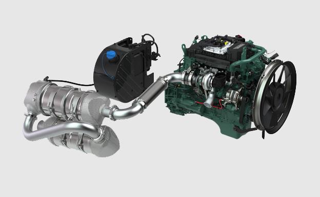 En prévision     de la norme antipollution européenne Stage V pour les engins hors-route prévue en 2019, Volvo Penta   a repensé sa gamme de moteurs afin de proposer des solutions optimisées pour l'avenir. Le modèle D5 fait partie de la gamme des moteurs EU Stage V de Volvo Penta, laquelle comprend également les blocs D8, D11, D13 et D16 développés   pour des domaines spécifiques comme la construction, les mines, l'exploitation forestière, l'agriculture, le levage   etc.   Cette gamme offre des niveaux de puissance maximum s'échelonnant entre 105 et 575 kW (143-782 ch).     Tous les moteurs, quelle que soit leur cylindrée, bénéficient d'un système d'injection à rampe commune et sont conçus pour développer leur puissance et leur couple maximum à faible régime. Il en résulte des performances optimisées, une très grande souplesse de fonctionnement, un faible niveau sonore et un rendement énergétique de première classe. En outre, tous les blocs sont dotés de l'ensemble des éléments clés du concept Stage V de Volvo Penta  .    «Il s'agit là d'une avancée très satisfaisante, car nous pouvons ainsi proposer un produit plus abouti et plus puissant, permettant aux équipementiers d'origine d'offrir à leurs clients des machines de nouvelle génération, équipées d'un moteur optimisé, se distinguant par des performances et une productivité rehaussées »   , affirme Erik Lundberg, responsable produit pour les moteurs industriels chez le motoriste suédois.   Au-delà de la puissance, ils disposent également d'une gestion thermique intelligente et du système EATS qui assure le post-traitement des gaz d'échappement : catalyseur d'oxydation diesel (DOC), filtre à particules (FAP), dispositif de réduction catalytique sélective (SCR) et catalyseur à rejet d'ammoniac (ASC). Le constructeur annonce en outre une version plus puissante du D5, qui pourrait atteindre 175 kW contre 160 kW aujourd'hui. Plusieurs constructeurs ont manifesté leur intérêt pour équiper leurs machines avec des moteurs