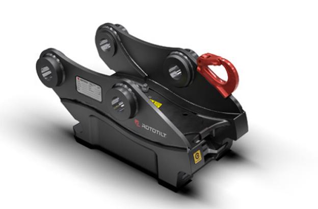 Le constructeur Suédois Rototilt présente une toute nouvelle génération d'attaches rapides Il s'agit des modèles S40,S45,S50 et S80. Aucune autre attache disponible sur le marché n'offre la même combinaison de résistance à l'usure, géométrie d'excavation optimisée et sécurité.Les attaches rapides Rototilt éliminent le risque d'oscillation ou de chute de l'outil grâce à SecureLock intégré dans l'attache. Chaque pelle mécanique présente sa propre géométrie d'excavation optimisée et il est donc important de disposer d'une attache rapide spécialement dimensionnée pour conserver cette géométrie.Les attaches rapides Rototilt sont fabriquées avec un châssis en acier coulé trempé avec de larges engrènements pour une longue durée de service. Une cale de blocage robuste permet d'éliminer tout jeu dans l'attache rapide et de minimiser le nombre de composants intégrés, qui sont en outre bien protégés.     Nouvelle pelle Hitachi à bras télescopique