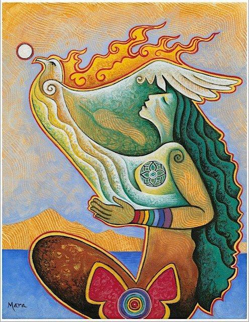 Mara Friedman  New Moon Visions Sacred Art