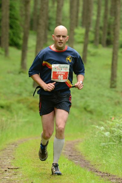 Running Trail Marathon Wales in 2012