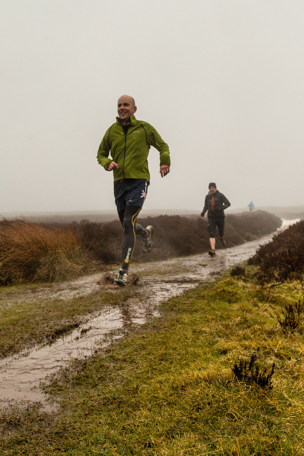 A pretty misty run on the Long Mynd with others from the TORQ trail team
