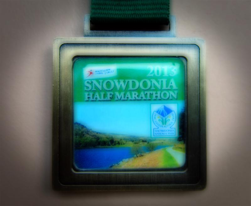 Snowdonia Half Marathon Medal