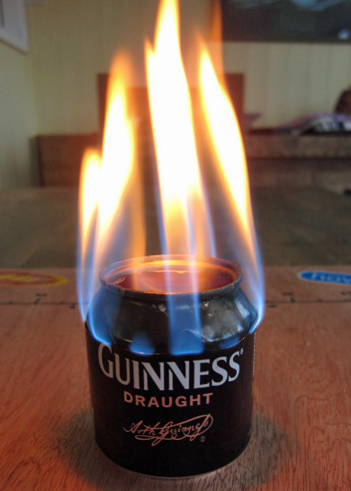 Lightweight Beer Can Stove
