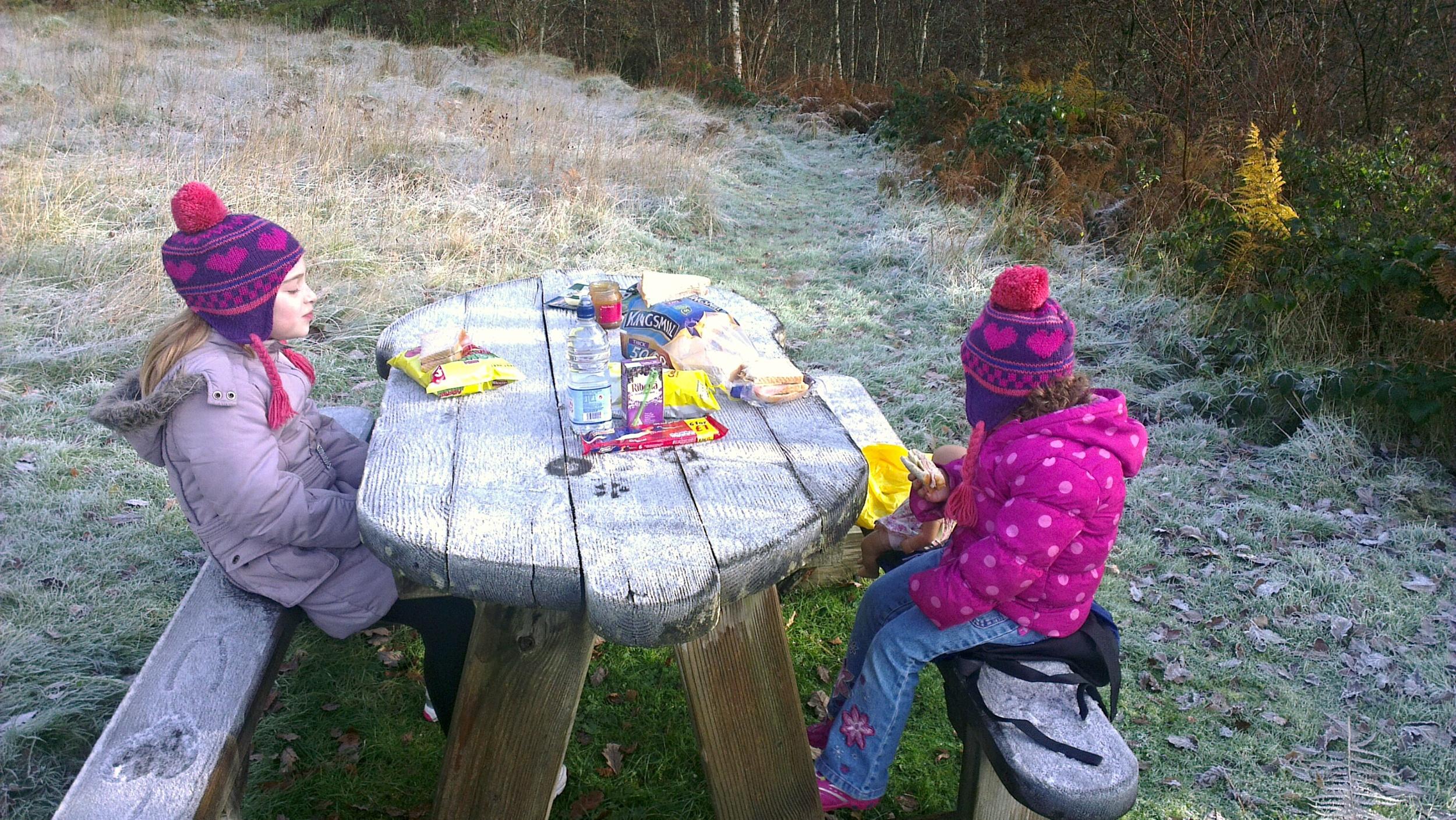 An Autumnal picnic