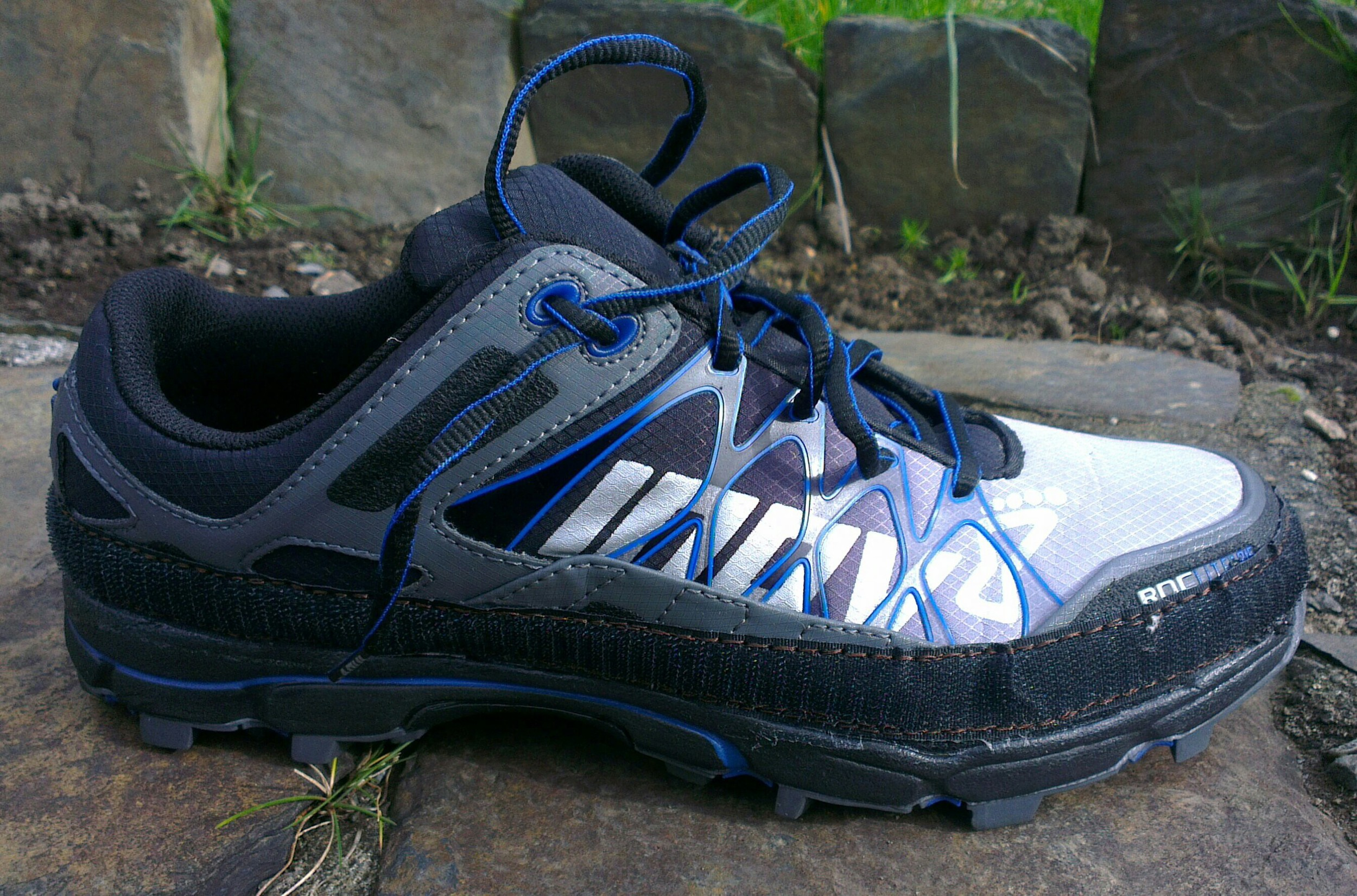 Inov8 Roclite 315 with gaiter velcro attached