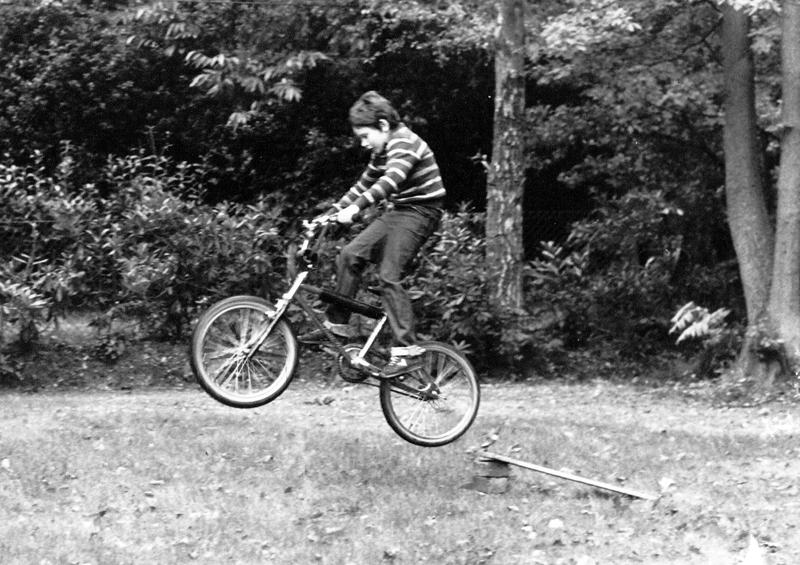 BMX bikes rocked