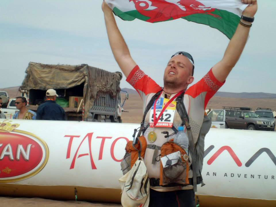 Shattered, but massive sense of achievement at the end of Marathon des Sables 2014