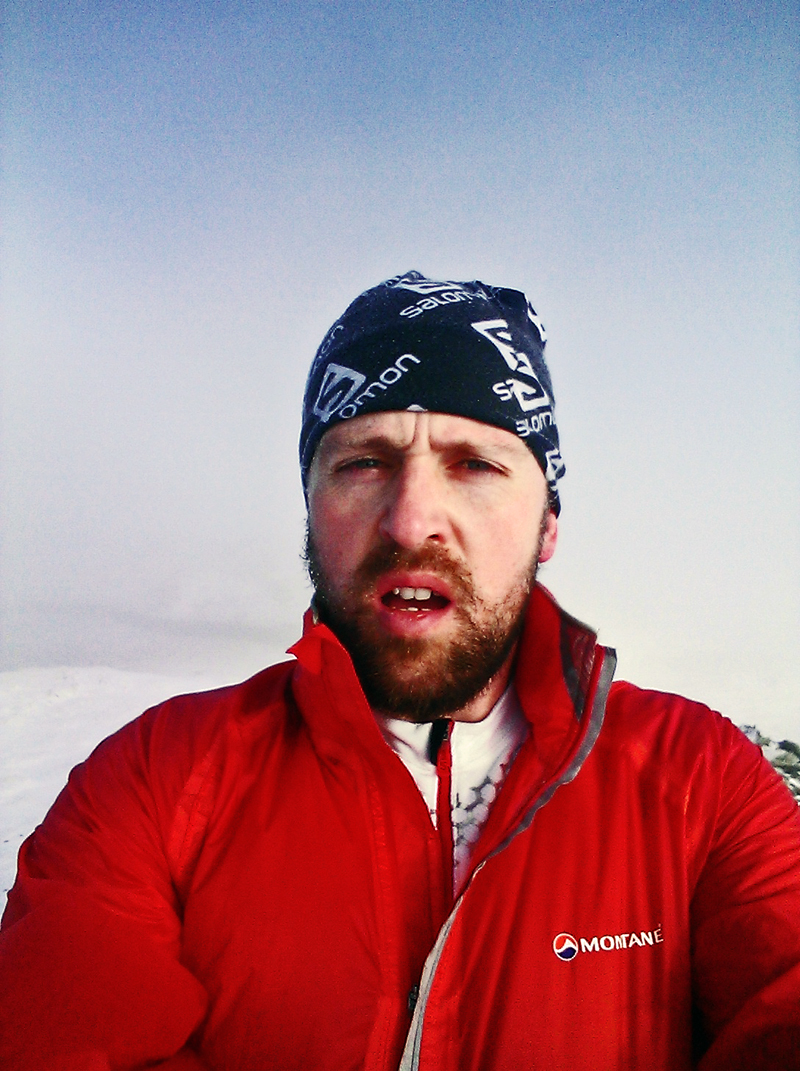Rhobell Fawr summit selfie