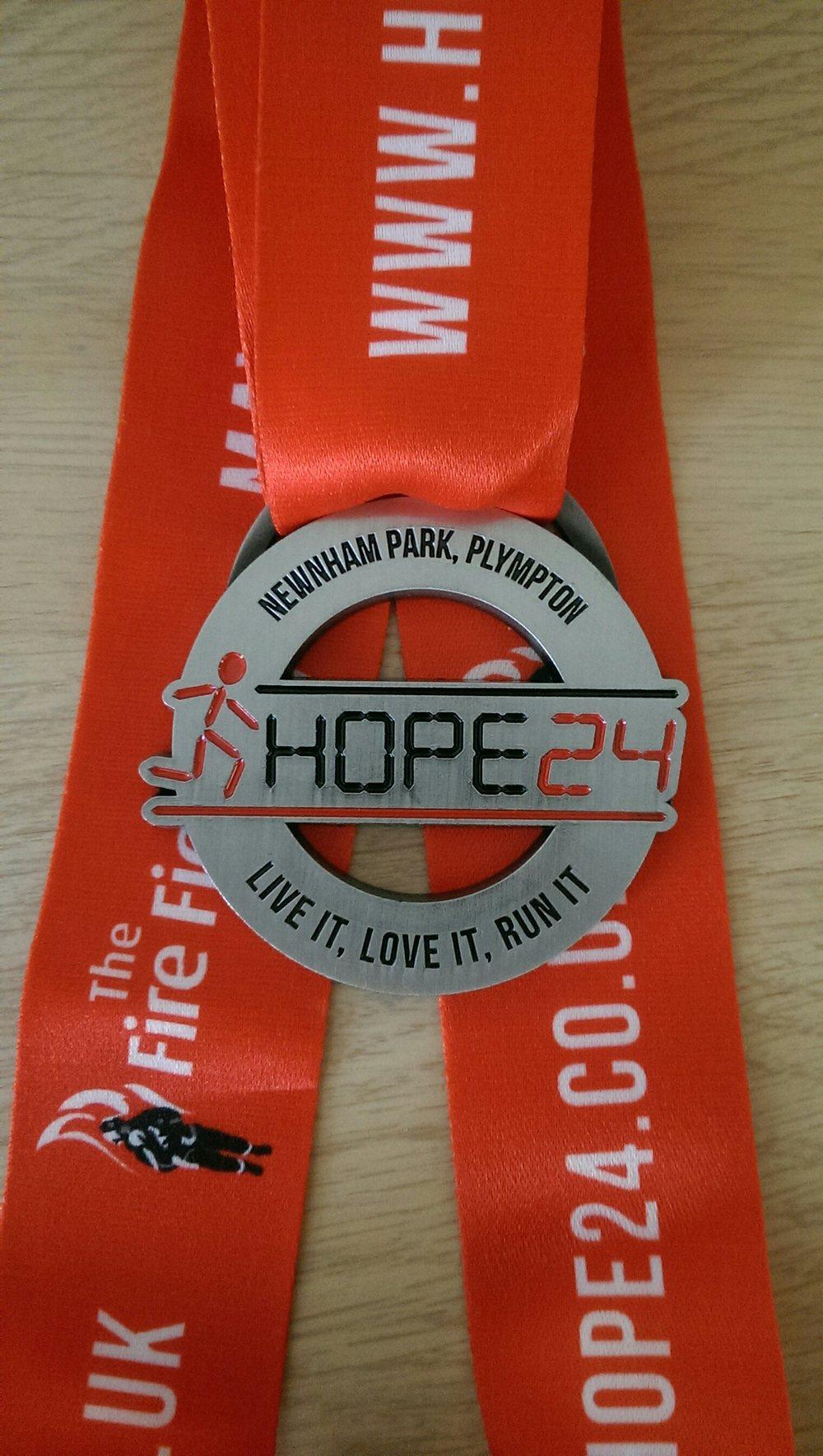 Hope 24 Medal