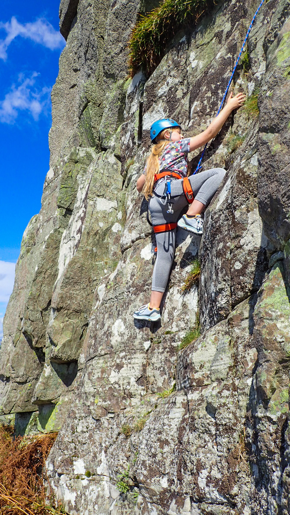 Young people, being healthy, climbing has more value than adventure.