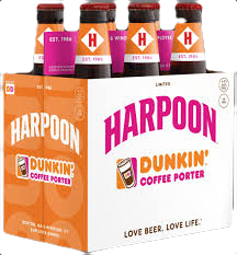 HARPOON -DUNKIN COFFEE STOUT