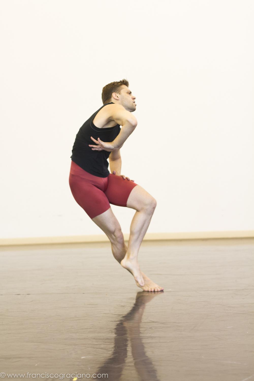 Michael Novak dances the part originally danced by Paul Taylor.