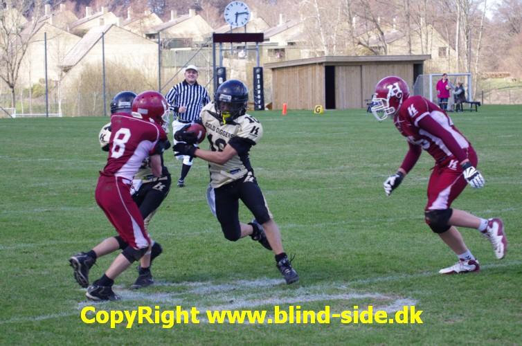 SGD U16 vs. Rebels U16 © blind-side.dk