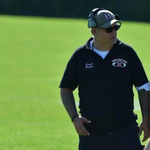 Jan Hamburger i sin tid som Head Coach for Herlev Rebels U19