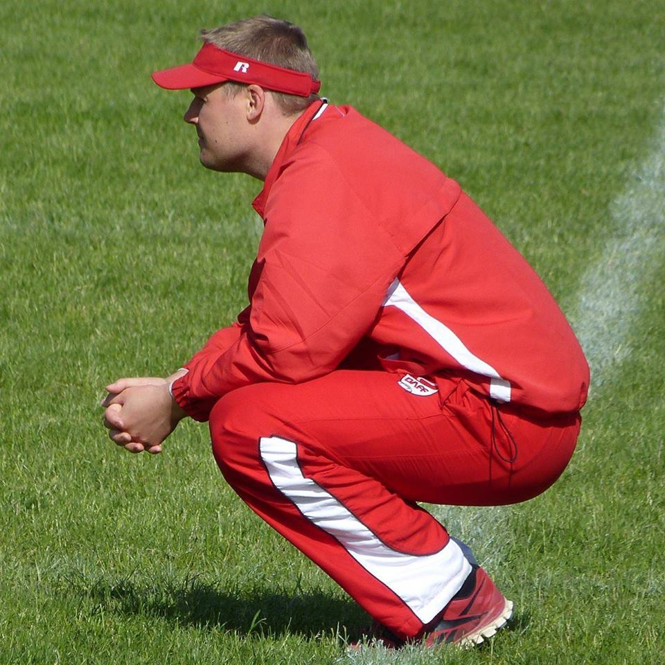 Morten Ramsgaard studerer quarterbacksne på landsholdet
