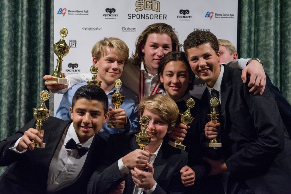 Alle U16 awardvinderne - Sbtn Photography
