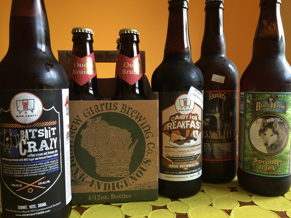 Some of the beers of Wisconsin you should be shopping for this week, plus one interloper.