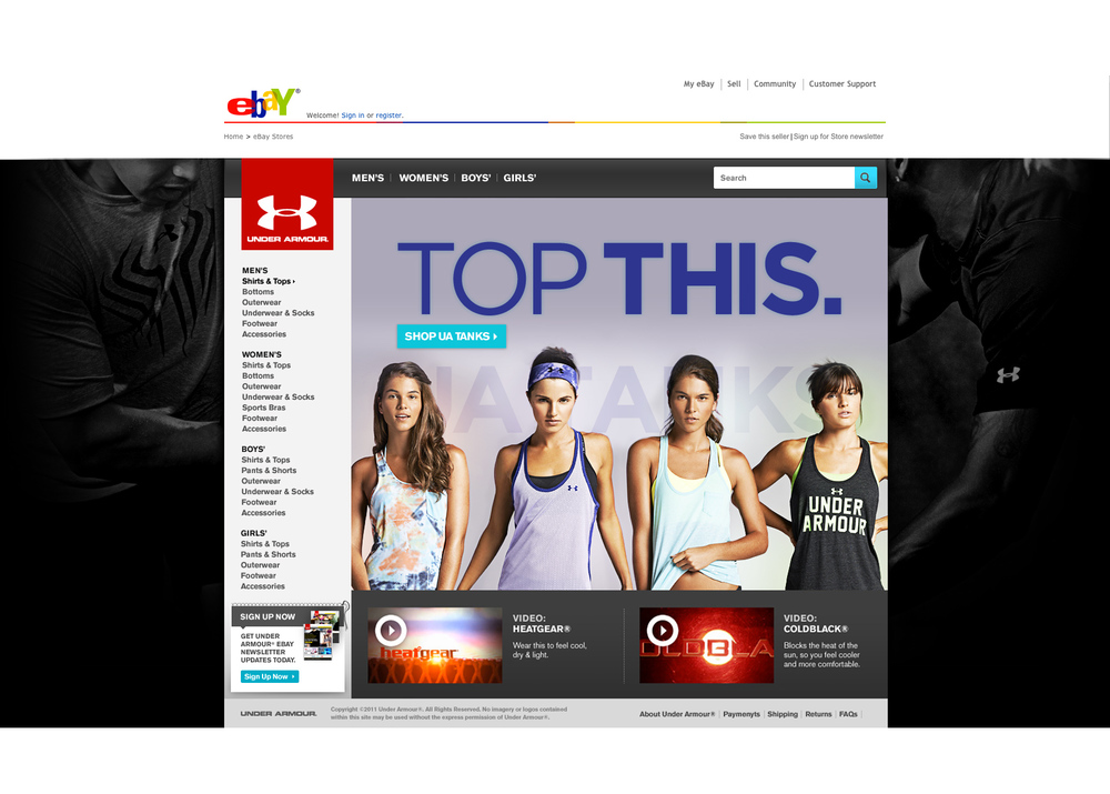 eBay Storefront