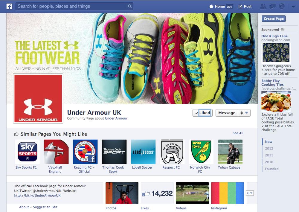 Under Armour UK Fanpage