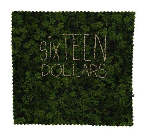 sixTEEN DOLLARS   And I want exact change.