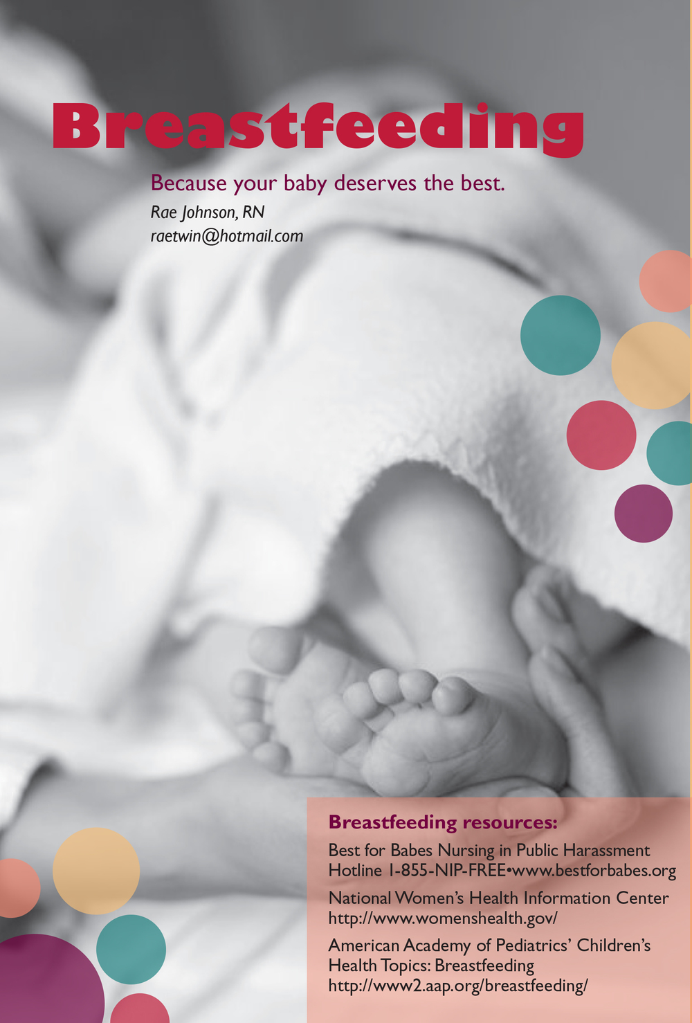 Breastfeeding Public Health Brochure