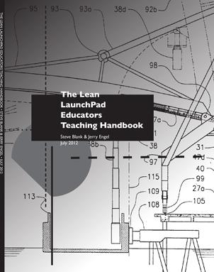 Lean LaunchPad Educators' Handbook Cover