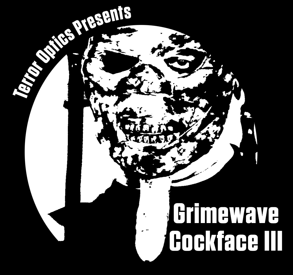 Stop by the Wild Eye Releasing booth for a copy of Grimewave and ask for a promo Cockface Koozie to keep your beer cold. Also handing out stickers, buttons, and more.
