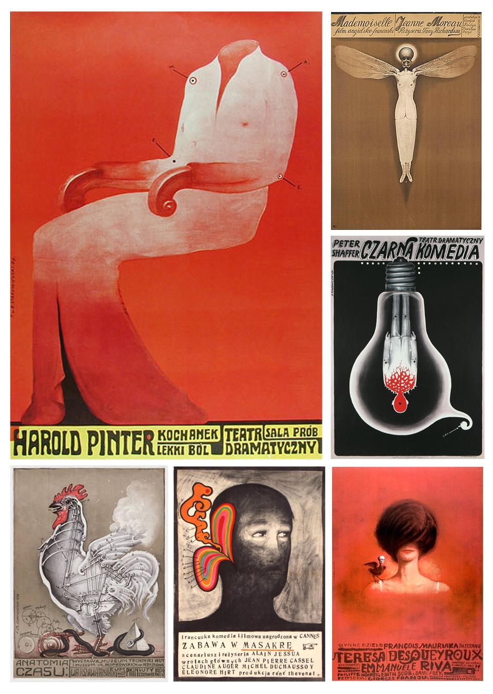 Poster art from Franciszek Starowieyski (Poland)