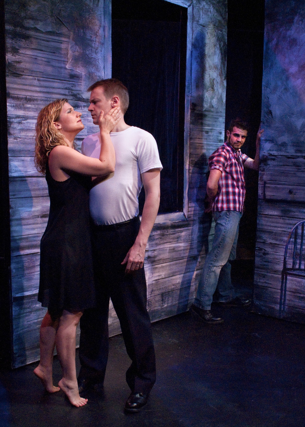 Amy Penney (Gladys), Colin Stuart (Preacher), Paul Rodrigues (Ottis).  