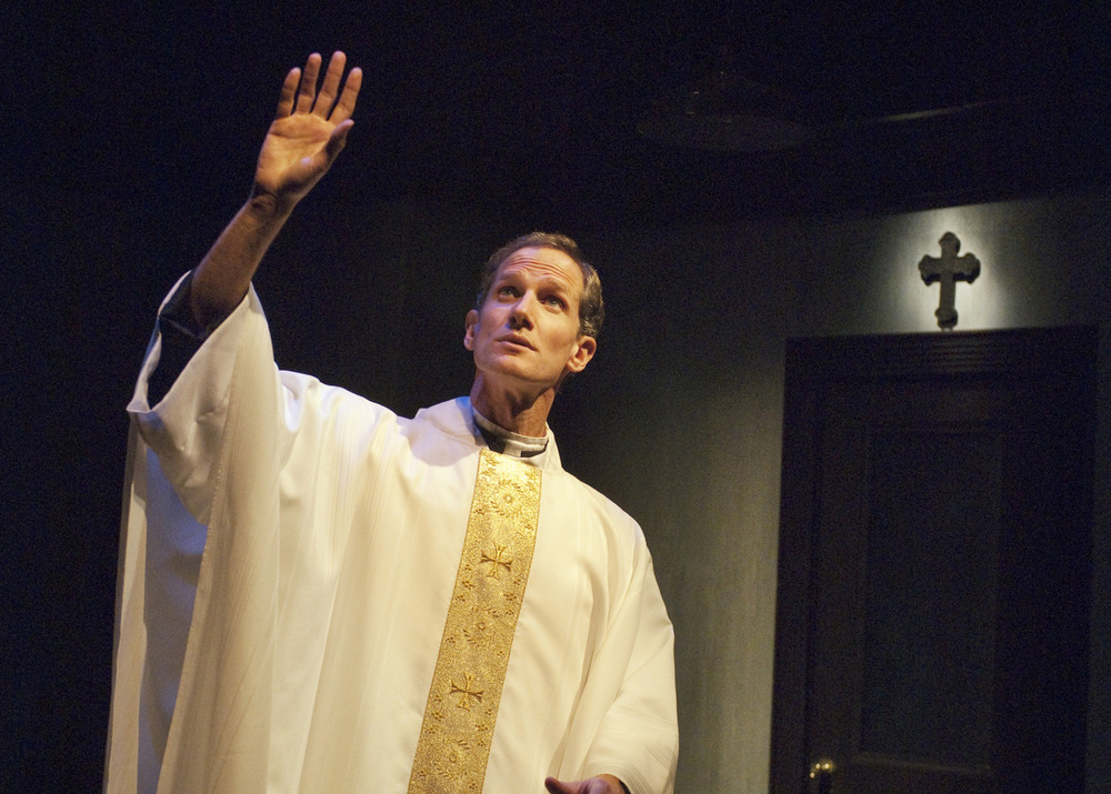 Andrew Nance (Father Flynn).    