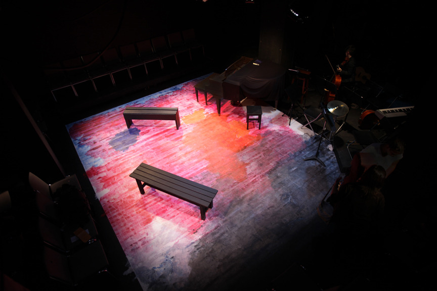 Scenic Design, The Last Five Years, 2011.