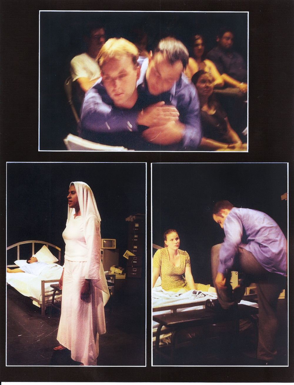 Production Photos, Angels in America, 2002.