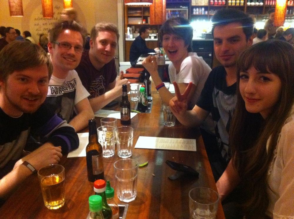L: S*, Adam, Martyn, R: Beckii, Parv, Leo