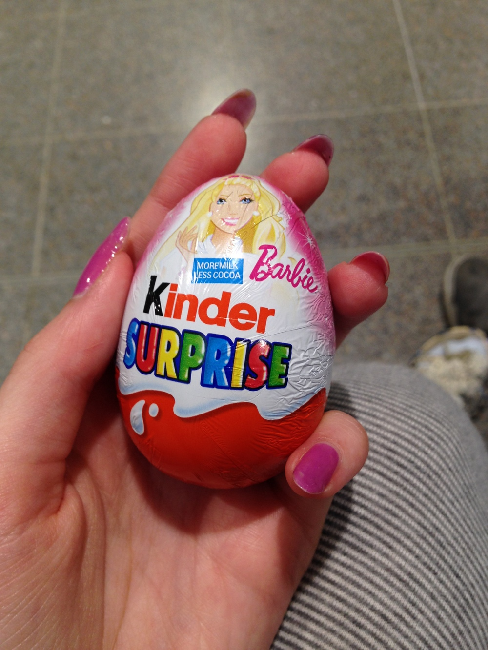took the last chance to have a Kinder Surprise in the UK ♥