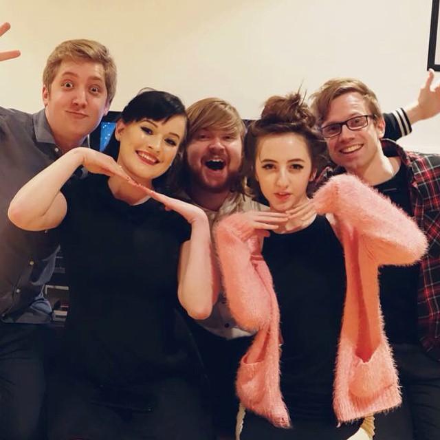 Martyn, Kaeyi, Sparkles*, Me, Adam