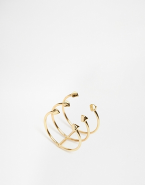 £6.00 ASOS Spike Spine Ring