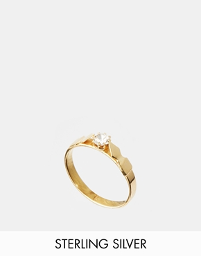 £18.00 ASOS Gold Plated Sterling Silver Arrow Ring