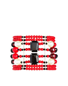 £40.00Nali Red Stone Elastic Bracelet