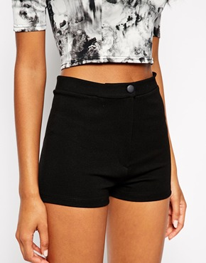 £15.00ASOS High Waisted Stretch Shorts