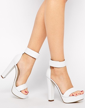 £93.50 Windsor Smith Malibu High Heeled Barely There Sandals