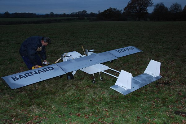 This UAV was developed by Barnard Microsystems Limited in the UK for science applications