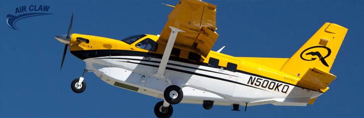 Northrop Grumman teamed up with Quest Kodiak to off the The Air Claw surveillance platform